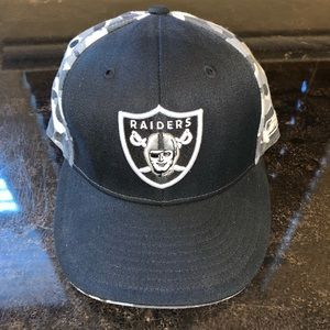 Raiders Camo Hat One Size
